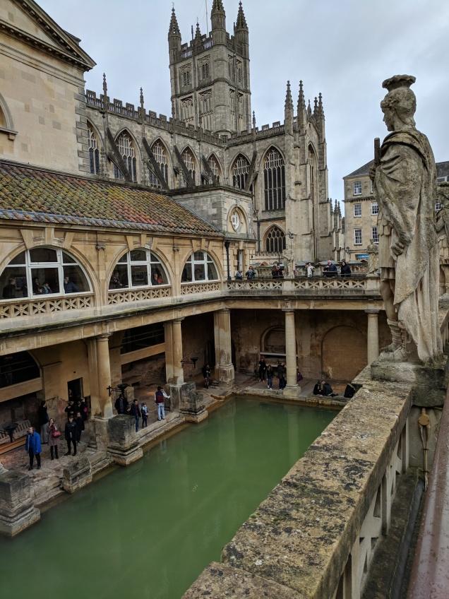 Roman hot springs